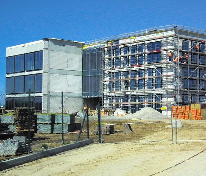 Budynek biurowy realizuje firma Skanska dla Coguar Investment Polska.