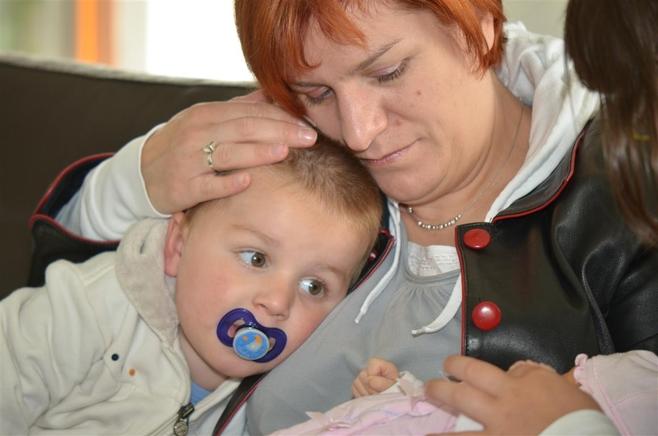 Mama i dziecko: Małgorzata Meillereux, syn Victor [41]