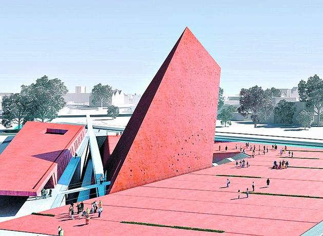 Muzeum ma być gotowe w 2014 r. Koszt budowy to 358 mln zł