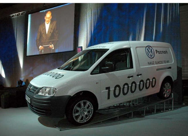 Milionowy VW Caddy