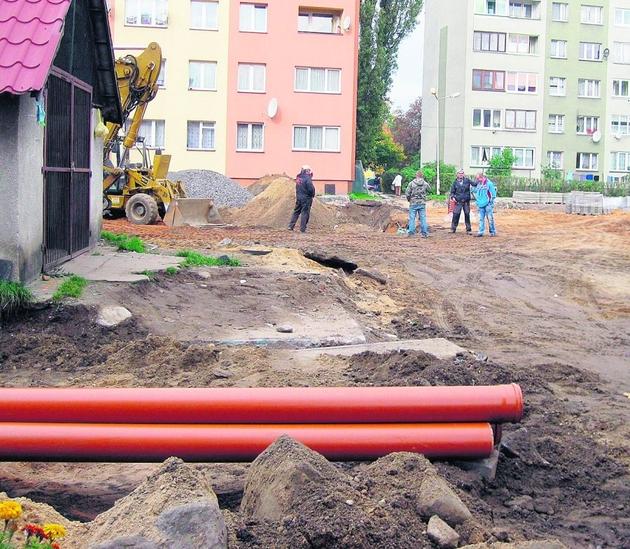 Remonty w centrum Lubania mają zakończyć się w grudniu