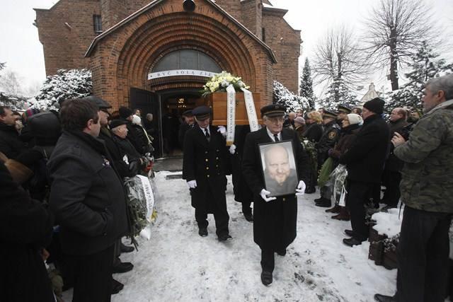 Pogrzeb Michała Smolorza