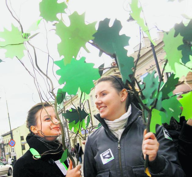 Młodzi ekolodzy na ulicach Lublina