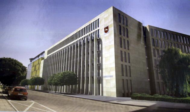 Budowa siedziby Urzędu Marszałkowskiego przy ul. Grottgera w Lublinie pochłonie w 2010 r. 4,8 mln zł