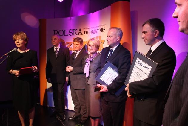 Wojewoda, marszałek województwa i prezydent Łodzi na jednej scenie.