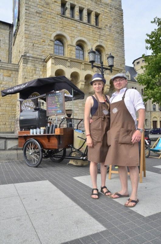 Poznań: Bike Cafe - pierwsza w kraju mobilna kawiarnia na kołach roweru