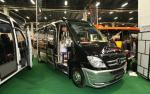 Minibus mercedesa przygotowany przez firmę AutoCuby