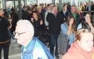 Punktualnie o 9.00 otworzyły się drzwi Galardii i tłum ruszył na zakupy.