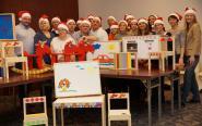 Maluchy z domów dziecka dostaną mebelki z Centrum Operacyjnego Grupy Banku Pocztowego [zdjęcia i wideo]