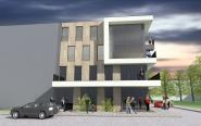 Tak ma wyglądać nowy biurowiec przy ul. Kołłątaja w Opolu.
