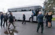 Pierwsza w Polsce prezentacja najnowszego słoweńskiego autobusu marki TAM odbyła się na Opolszczyźnie.