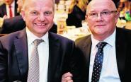 Właściciel firmy Skowron - Wojciech Skowron, z prawej strony.