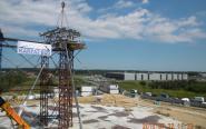 Zobacz jak montują potężną konstrukcję na CWK w Jasionce