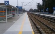 Przystanek kolejowy w Nowym Kisielinie