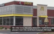 McDonald's odnotowuje straty. Zamknie 900  lokali.