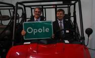 Otwarcie fabryki Polarisa w Opolu