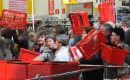 Tłum na otwarciu Auchan w Centrum Handlowym Rondo w Bydgoszczy [zdjęcia]