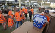 DS Smith w Kielcach zaprezentował fabrykę opakowań kartonowych. Zobacz niezwykły zakład