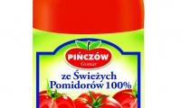 Sok ze świeżych pomidorów 100 procent wytwarzany jest według tradycyjnej receptury przy użyciu najnowszych technologii.
