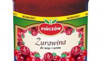 Żurawina produkowana w pińczowskim przedsiębiorstwie Gomar powstaje tylko w okresie sezonu owocowego z wyselekcjonowanych owoców.