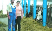 Produkcję mleka zwiększyli również Jolanta i Jan Monachowie z Kobylanki. Im jednak udało się wydzierżawić dodatkową kwotę i nie muszą się martwić tym, że trzeba będzie zapłacić karę za nadprodukcję.