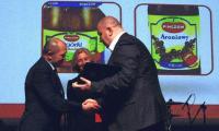Nagrodę z rąk Ministra Rolnictwa i Rozwoju Wsi odbierał Prezes Zarządu Gomar Pińczów Tomasz Karbowniczek.
