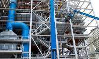 Już zamontowano blisko 560 ton stali. Całość konstrukcji ma ważyć około 600