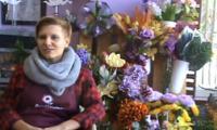 """Dorota Hames, florystka, właścicielka Pracowni Florystycznej i Decoupage """"Sunflower"""" w Bydgoszczy"""