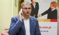"""Piotr Sazon, ekspert z PFP, rozmawiał z czytelnikami """"Głosu Pomorza""""."""
