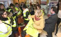 Do rywalizacji w grze miejskiej TaxMania ruszyło w piątek 25 uczniów i studentów kieleckich szkół. Grę przygotował Michał Cielibała.