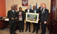 Wizyta przedstawicieli nigeryjskiej ambasady.