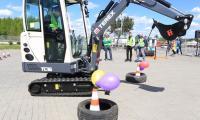 Konkurs na najlepszego operatora maszyn budowlanych w Targach Kielce [WIDEO]