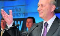 Andrzej Zawistowski, prezes rady nadzorczej, podczas debiutu spółki na parkiecie GPW w 2007 r.