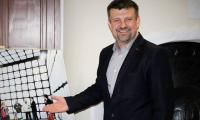 Dr. inż. Romanem Kielec, prezes Parku Naukowo -Technologicznego Uniwersytetu Zielonogórskiego