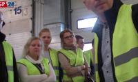 Studenci WHSZ w Słupsku na zajęciach w fabryce Scania w Słupsku