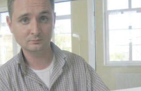 - Ponad pięć tysięcy podpisów pod naszą petycją o obwodnicę. Tego nie można zlekceważyć - mówi Robert Włodek. (fot. Beata Bielecka)