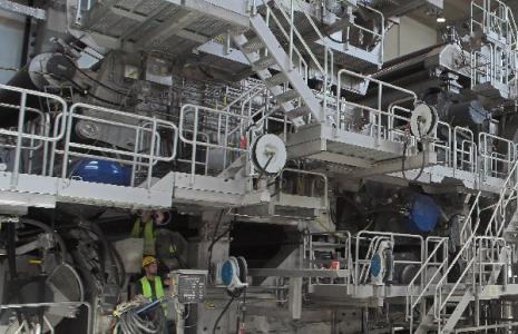 Gdy ta maszyna osiągnie swoją pełną wydajność, zużycie tego surowca w zakładzie wzroście do 900 tys. ton rocznie, co równa się ponad 40 proc. zbieranej makulatury w Polsce.