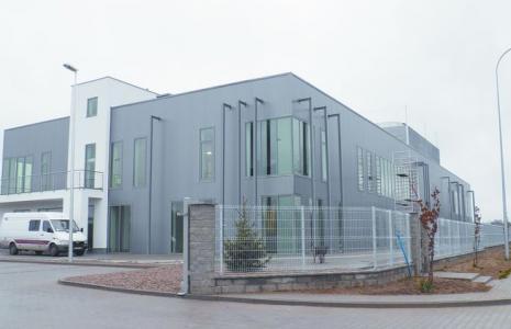 W tym nowoczesnym budynku, o łącznej powierzchni ok. 4 tys. m kw.  będzie produkowany sprzęt medyczny przez firmę Balton