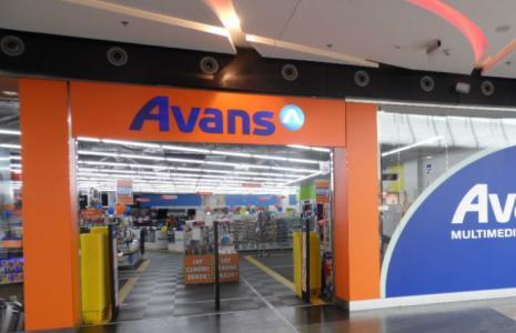 Sklep sieci Avans w rzeszowskiej galerii Millenium Hall.