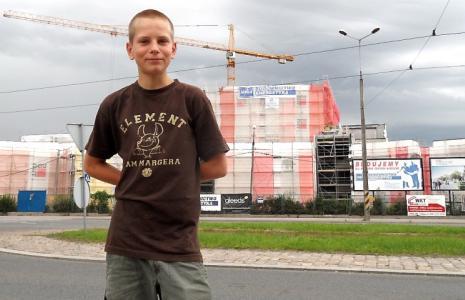 Budowa całej galerii Alfa ma kosztować ok. 175 mln zł.
