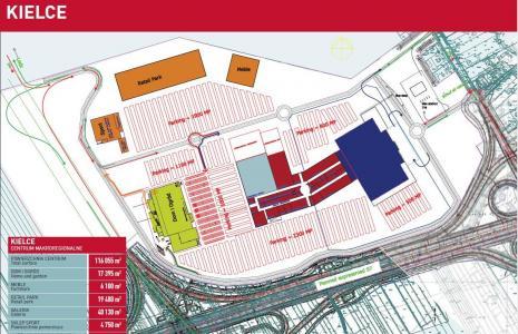 Tak wygląda plan Centrum Makroregionalnego przy trasie S-7. fot . Rank Progress