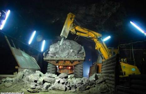 """Zakłady Górnicze """"Rudna"""" to dziś największa kopalnia miedzi w Europie i jedna z największych kopalń głębinowych rudy miedzi na świecie (fot. Anna Białęcka)"""