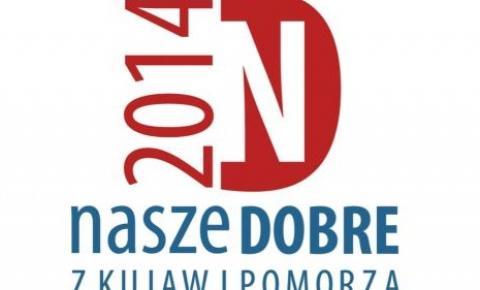 Logo plebiscytu Nasze Dobre z Kujaw i Pomorza 2014