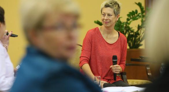 Znana dziennikarka i prezenterka telewizyjna Dorota Warakomska, przedstawicielka Kongresu Kobiet, przyjechała do Kielc, by rozmawiać z najbardziej aktywnymi zawodowo mieszkankami naszego regionu i podzielić się własnymi doświadczeniami w pracy.