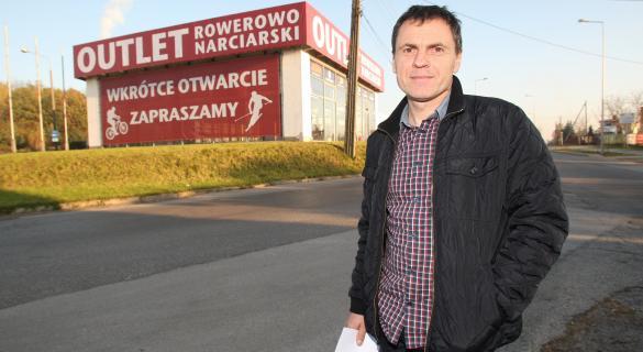Kazimierz Stafiej, sława polskiego kolarstwa, otwiera wkrótce w Kielcach pierwszy w regionie outlet rowerowo-narciarski.