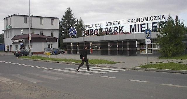 Obszar w Rogoźnicy jest częścią SSE Mielec.