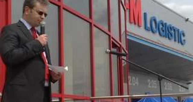 W ostatnich miesiącach na terenie strefy rozwinęły się dwie firmy. Jedna z nich to FM Logistic. (fot. Radosław Dimitrow)