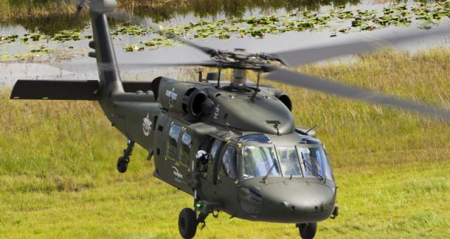 Sztandarowym produktem zakładów PZL Mielec są helikoptery Black Hawk. Fot. PZL Mielec