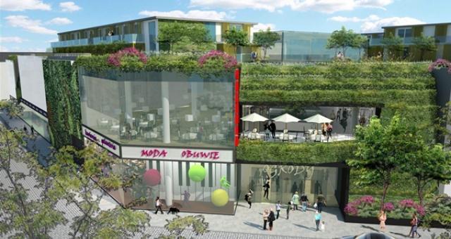 W Galerii Ogrody znajdzie się ponad 30 sklepów oraz ekskluzywny hotel.