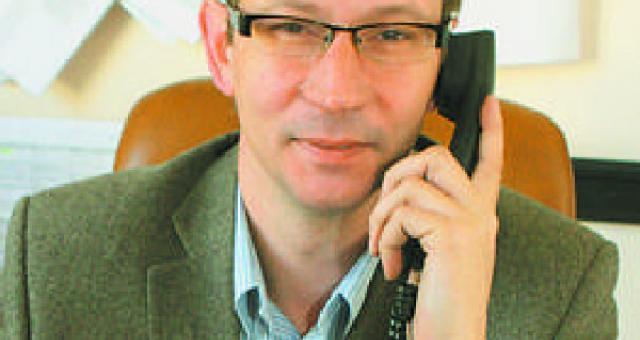 Bogdan Lewandowski z I Urzędu Skarbowego w Bydgoszczy